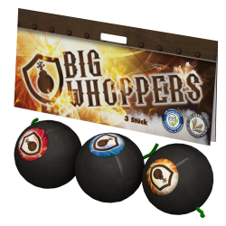 Lesli Big Whoppers 3er Cracklingbälle