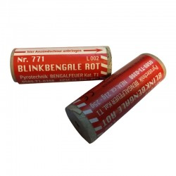 Zink Blinkbengale rot Nr 771