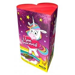Nico I love Unicorns Fontänenbatterie