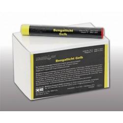 Blackboxx Lanzenlichter Gelb, 25er Pack
