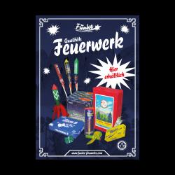 Funke Feuerwerk Poster Plakat 6