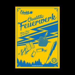 Funke Feuerwerk Poster Plakat 3