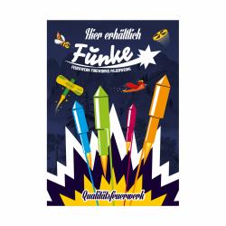 Funke Feuerwerk Poster Plakat 1