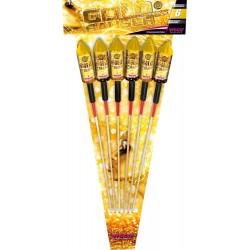 Weco Goldrausch Raketen 6er...