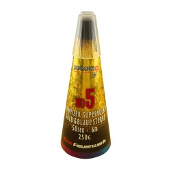 Zink Schweizer Vulkan Gold-Blau No. 5