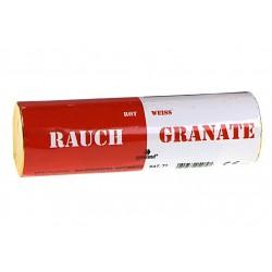 Rauchgranate Rot Weiss Doppelrauch...